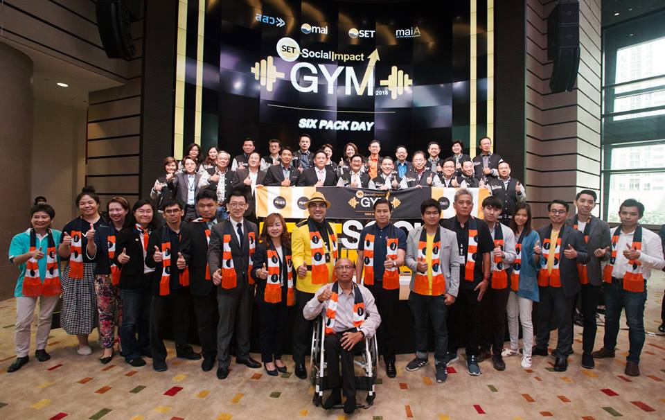 SET Social Impact Gym 2018 : Six Pack Day