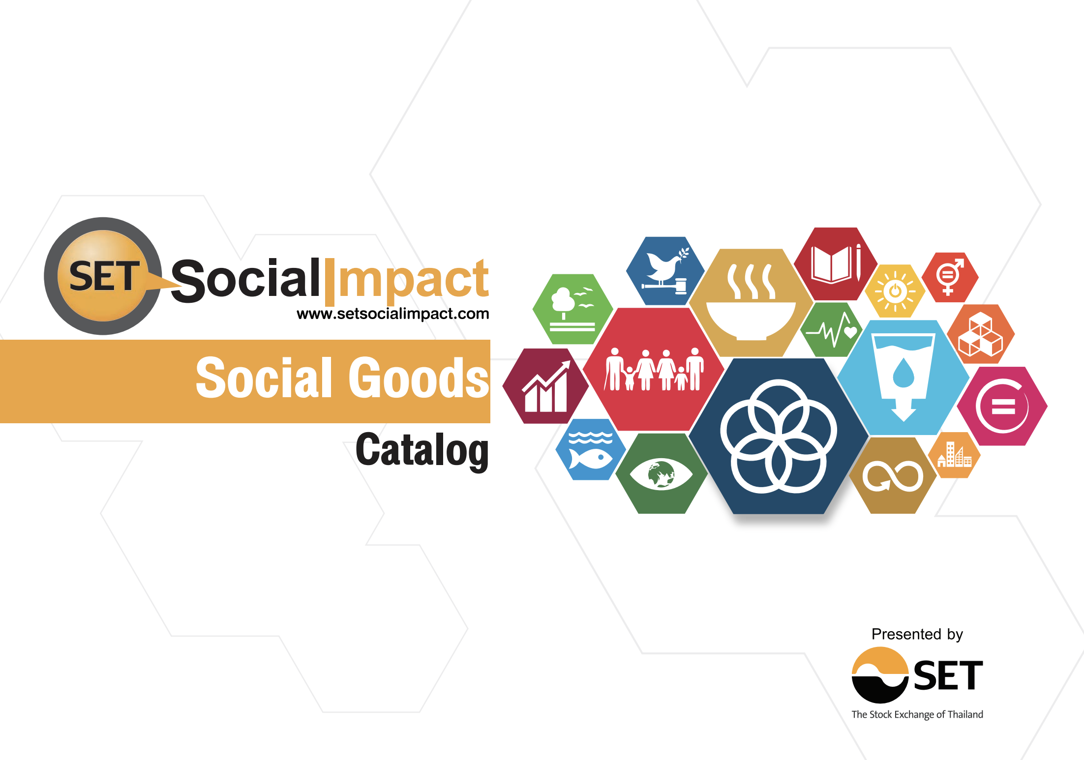 Social Goods Catalog