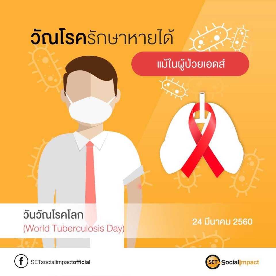 วัณโรครักษาหายได้ แม้ในผู้ป่วยเอดส์