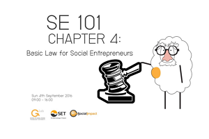 เปิดลงทะเบียน SE101 Chapter 4 Basic Law for Social Entrepreneurs