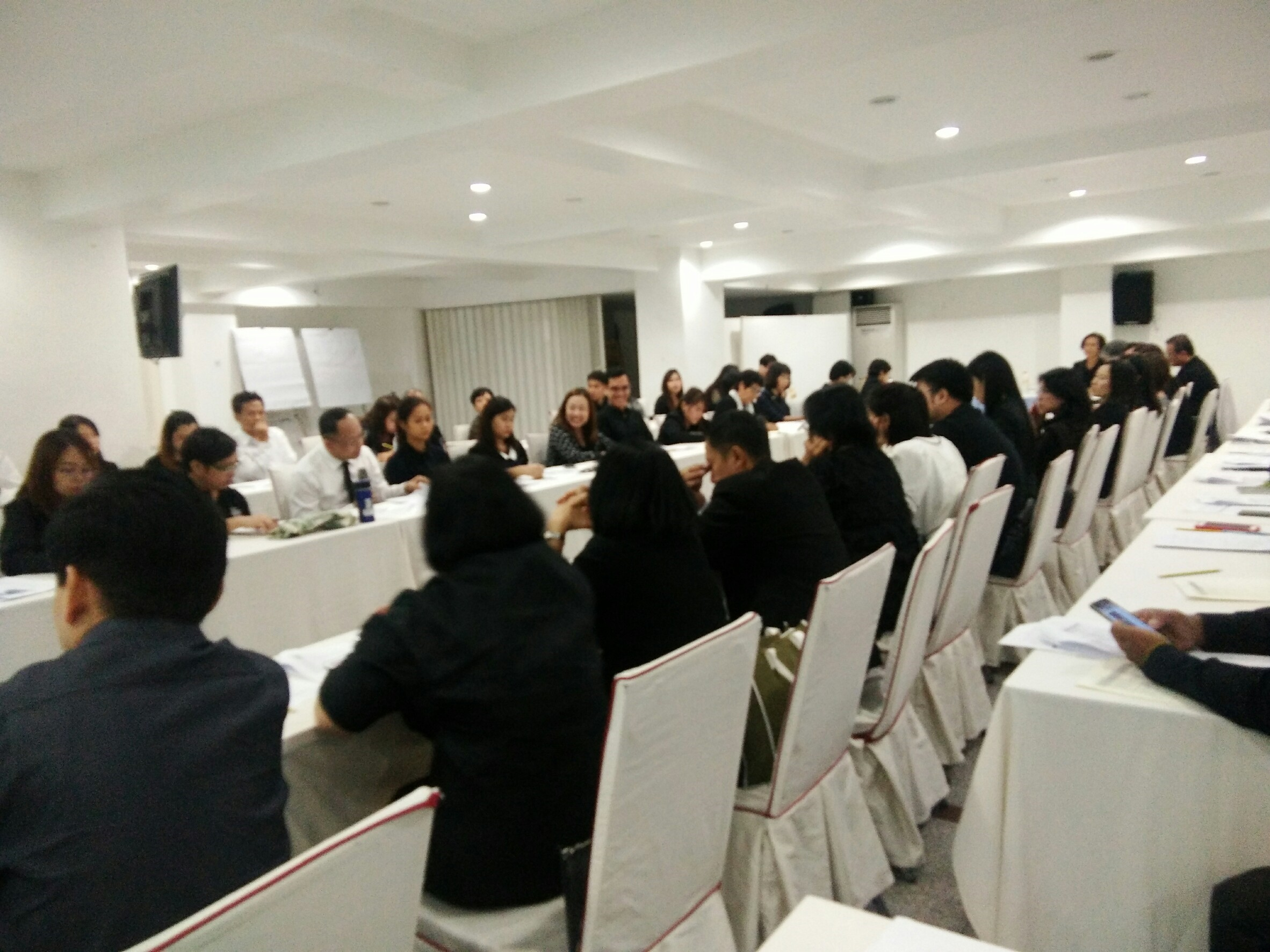 การประชุมร่างแผนบูรณาการเครือข่ายสิ่งแวดล้อมเมืองที่ยั่งยืน ครั้งที่ 2