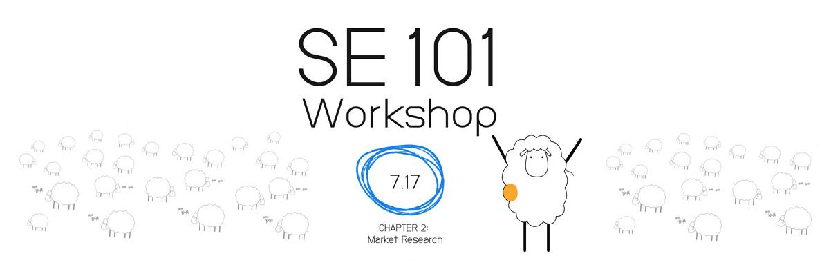 SE101: 2. Market Research