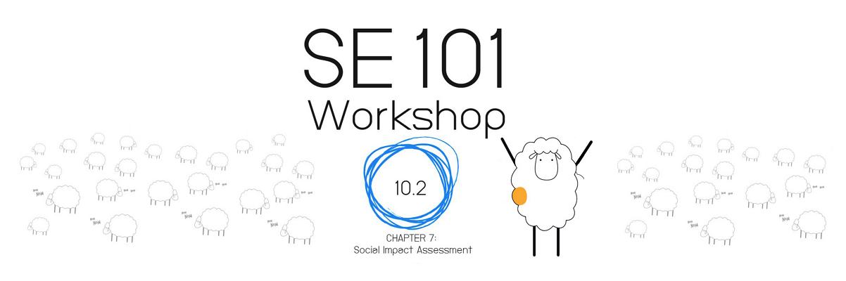 workshop SE101: 7. Social Impact Assessment  ได้ย้ายมาจัดในวันอาทิตย์ที่ 20 พ.ย.59