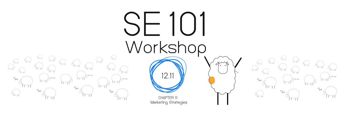 SE101: 11. Marketing Strategies
