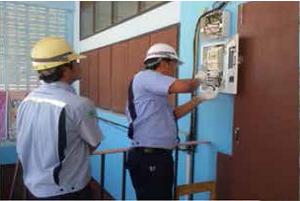 ปรับปรุงระบบไฟฟ้าโรงเรียนบ้านมาบเตย