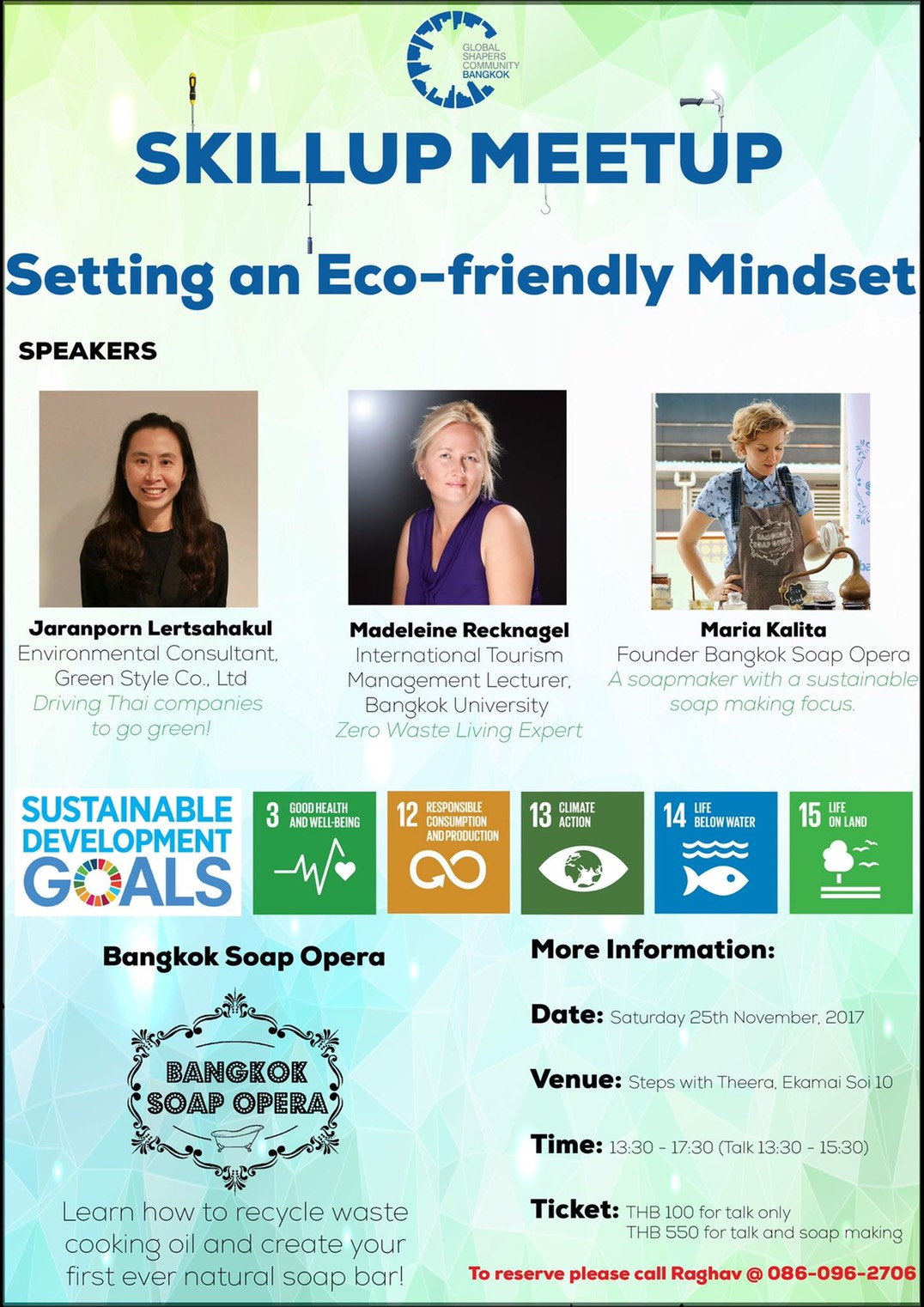 GLOBAL SHAPERS : SETTING AN ECO-FRIENDLY MINDSET